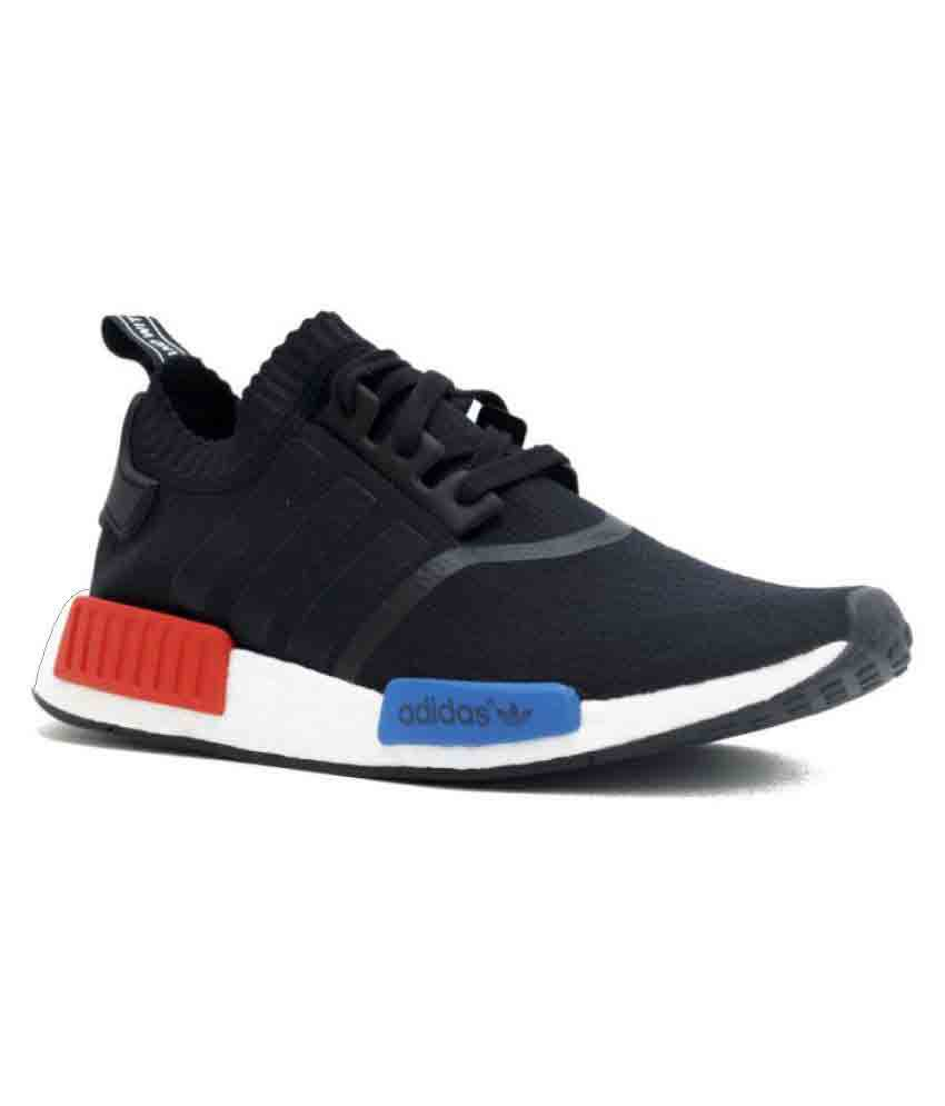 2e7a196016a8 Adidas NMD Runner PK Black Running Shoes - Buy Adidas NMD Runner PK Black  Running Shoes Online at Best Prices in India on Snapdeal