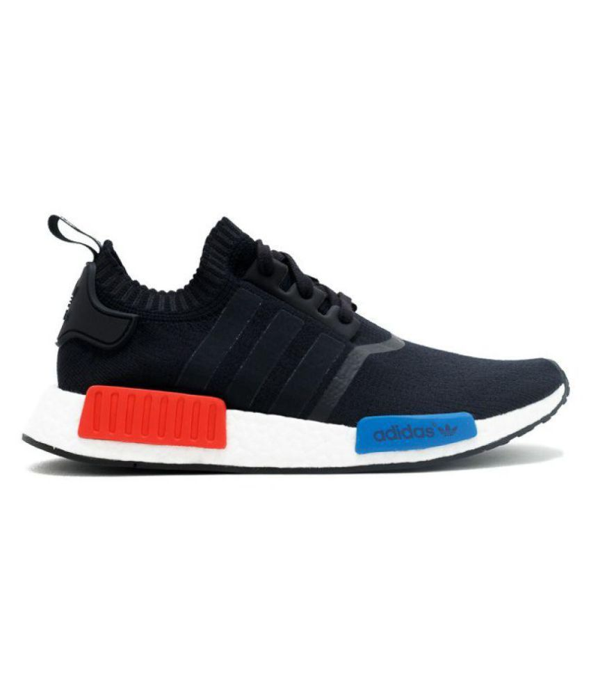 Adidas NMD Runner PK Black Running Shoes - Buy Adidas NMD Runner PK ... e5cbbc7dd