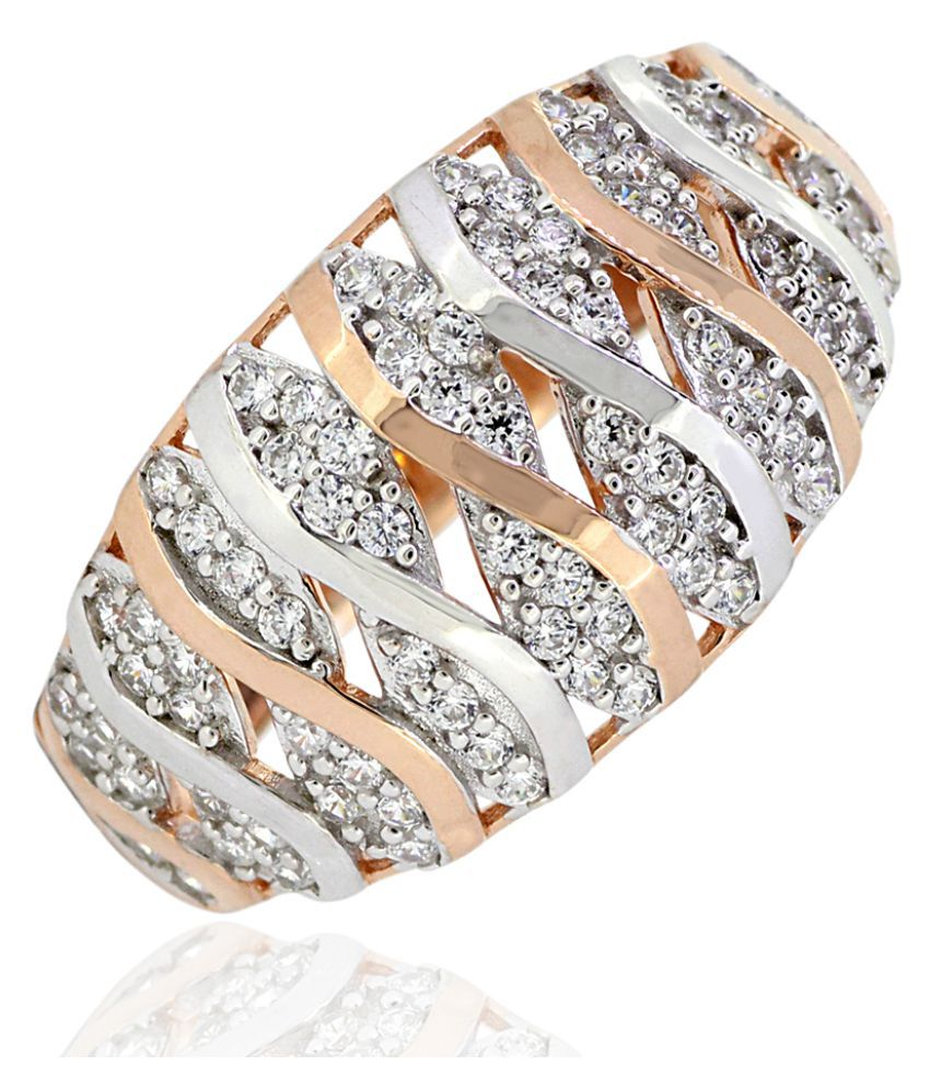 Joal 92.5 Silver Cubic zirconia Ring
