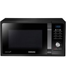 Samsung 23 Ltr MS23F301TAK/TL Solo Microwave Oven - Black