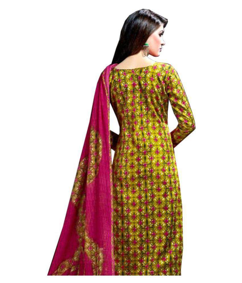 9169978cb1 Alok Pink Chiffon Dress Material - Buy Alok Pink Chiffon Dress ...