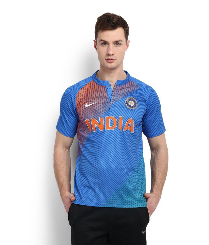 Nike Blue Henley T-Shirt