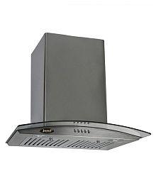 Jazel SS 1100 M3/H 1100 M3/hr 60 Cm Glass Chimney