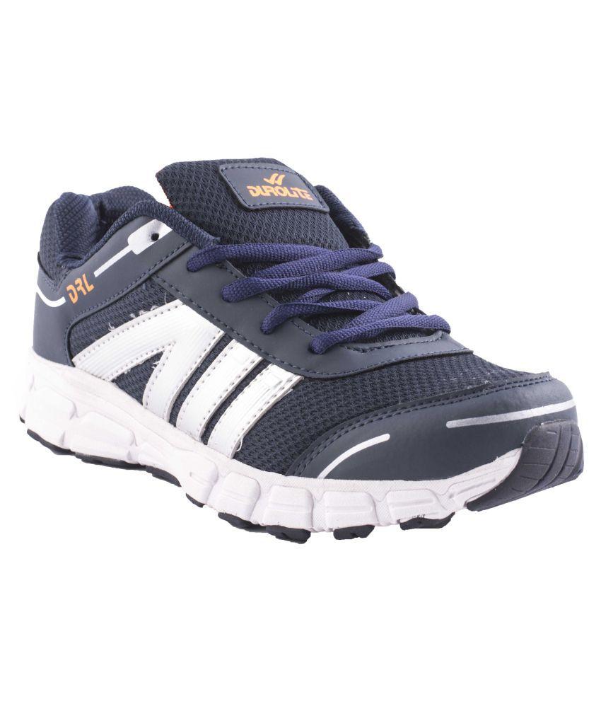 Durolite Lightweight Running Sports Blue Running Shoes