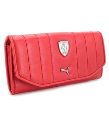 Puma F1 Red Wallet