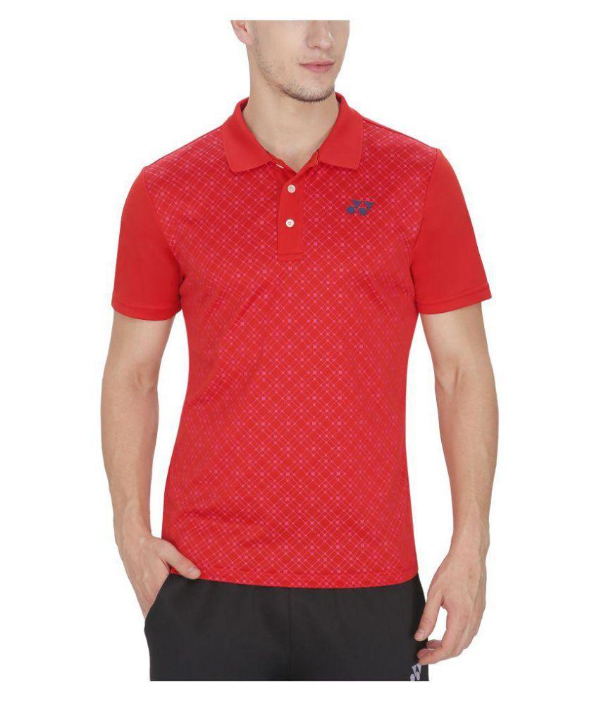 Yonex Red Tshirt