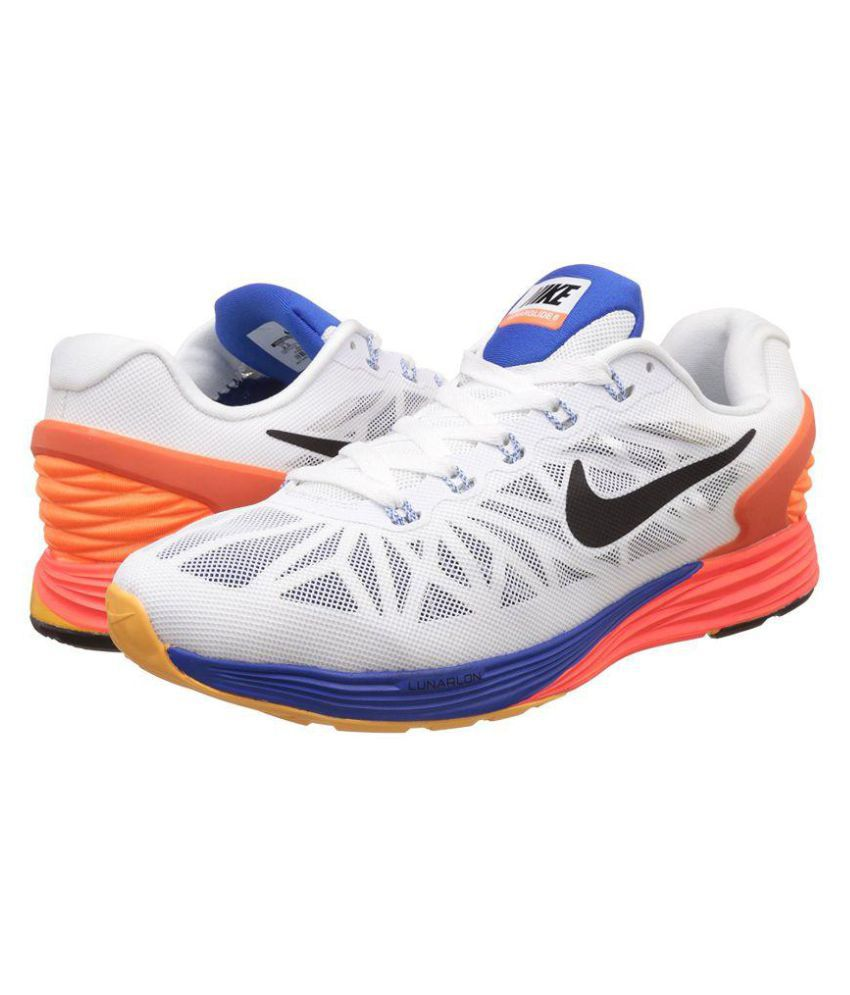 new arrival aa7ce 4c795 ... Nike 6 0 Lunarglide 6 White Running Shoes