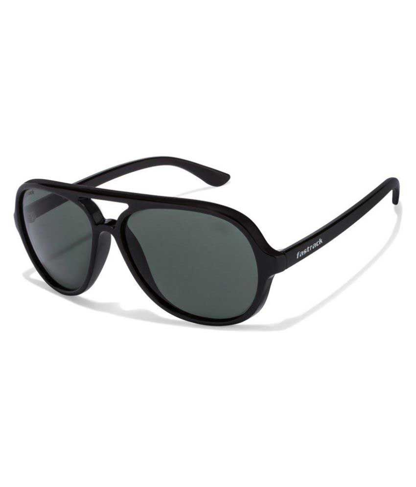 4bfa5722ef Fastrack Green Aviator Sunglasses ( P358BK2 ) - Buy Fastrack Green Aviator  Sunglasses ( P358BK2 ) Online at Low Price - Snapdeal