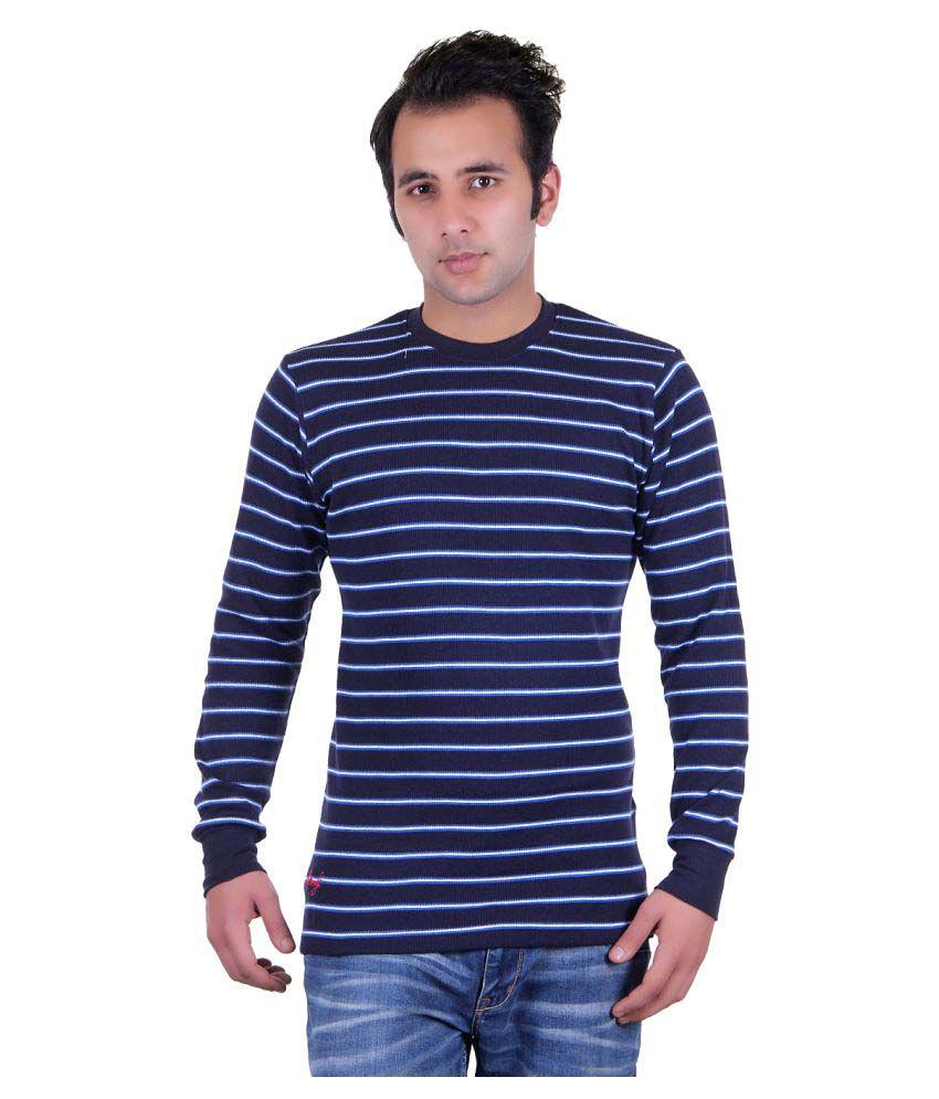 Grand Derby Blue Round T-Shirt