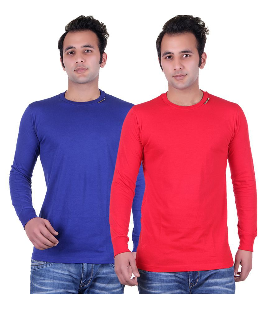 Grand Derby Multi Round T-Shirt Pack of 2