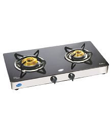 "Glen GL 1021 GT FB HF ""2 Burner"" Manual Gas Stove"