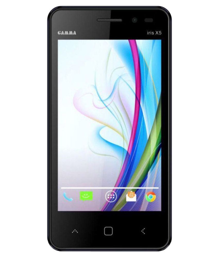 Gamma Iris X5 8gb Black Snapdeal Rs. 2149.00