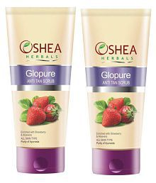 OSHEA Herbals Glopure Facial Scrub 120 Ml Pack Of 2