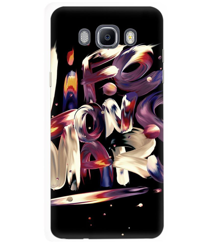 Samsung Galaxy On8 Printed Cover By Knotyy