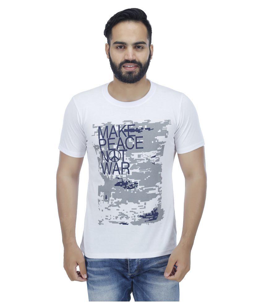 ESS Bee White Round T-Shirt