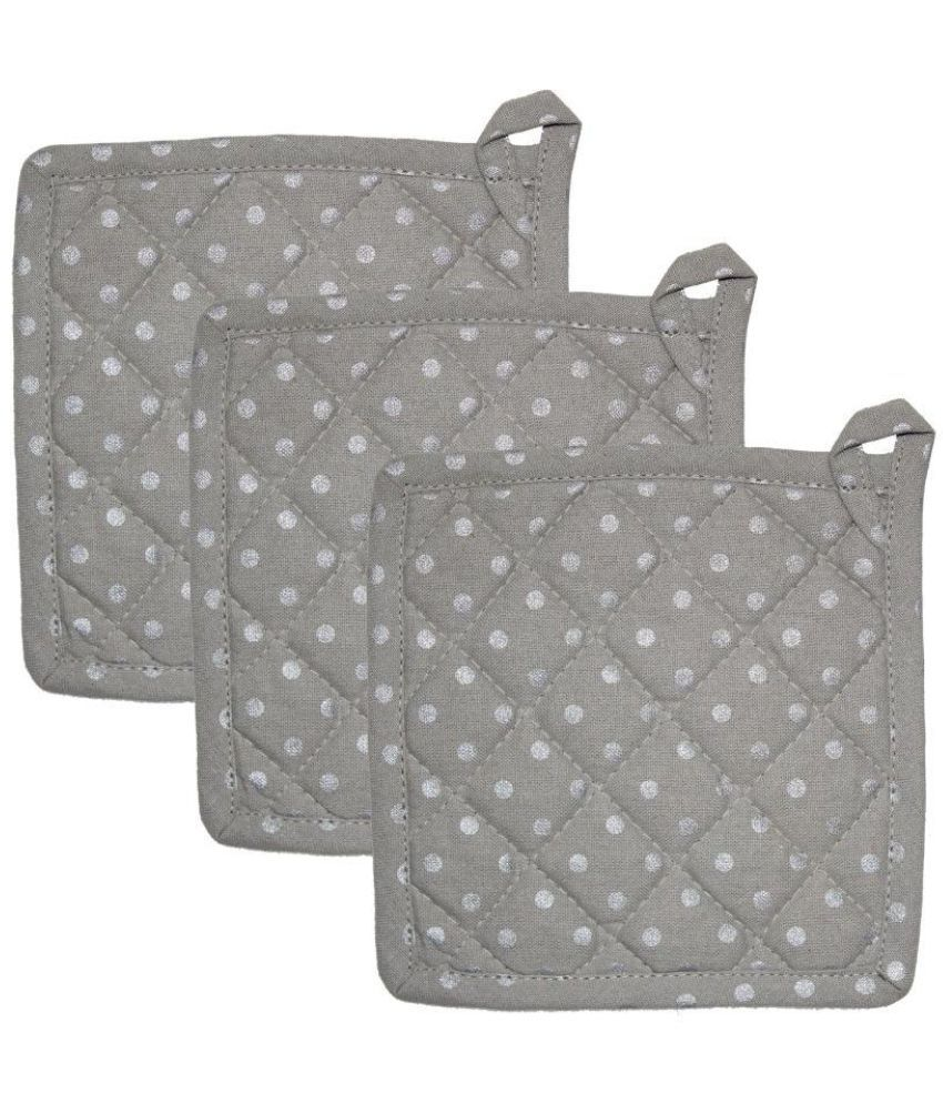 Airwill Gray Pot Holder - Pack of 3