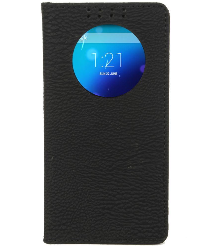 Apple iPhone 6 Flip Cover by Dsas - Black