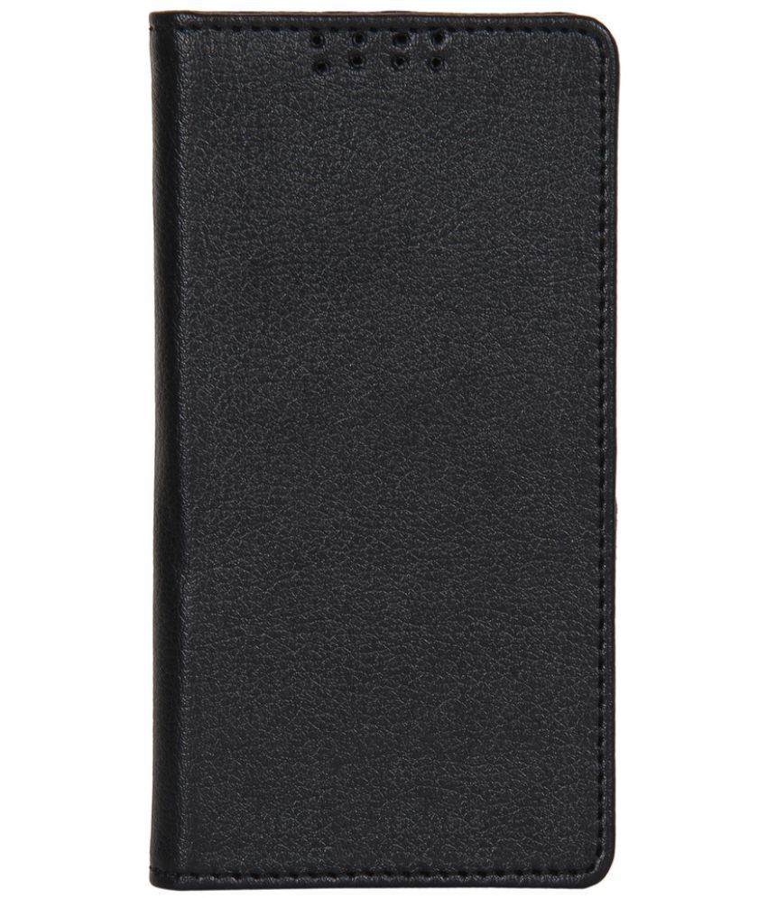 Asus Zenfone 5 Flip Cover by Dsas - Black
