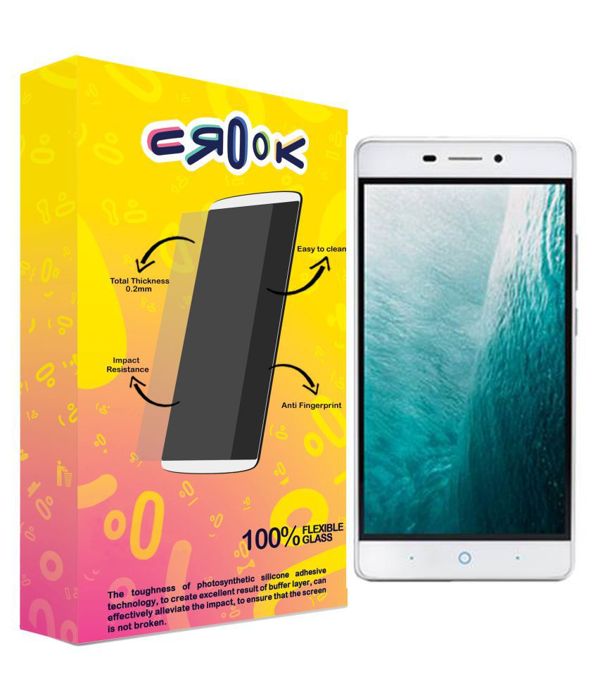 LYF Water 7 Tempered Glass Screen Guard By Crook