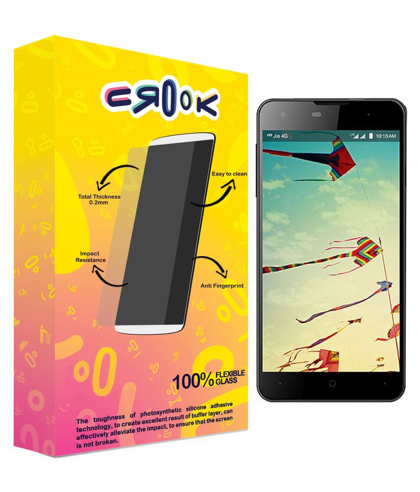 LYF Wind 1 Tempered Glass Screen Guard By Crook