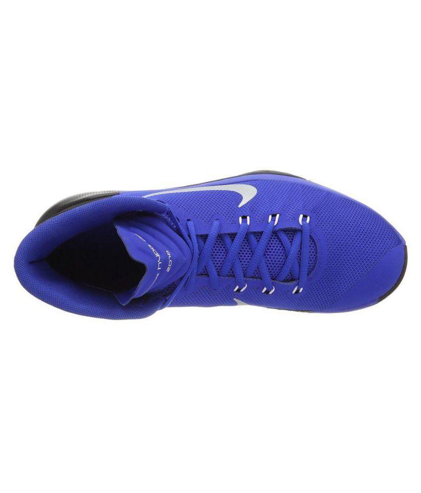 super popular 19936 f183d ... Nike Prime Hype Df 2016 Blue Basketball Shoes ...