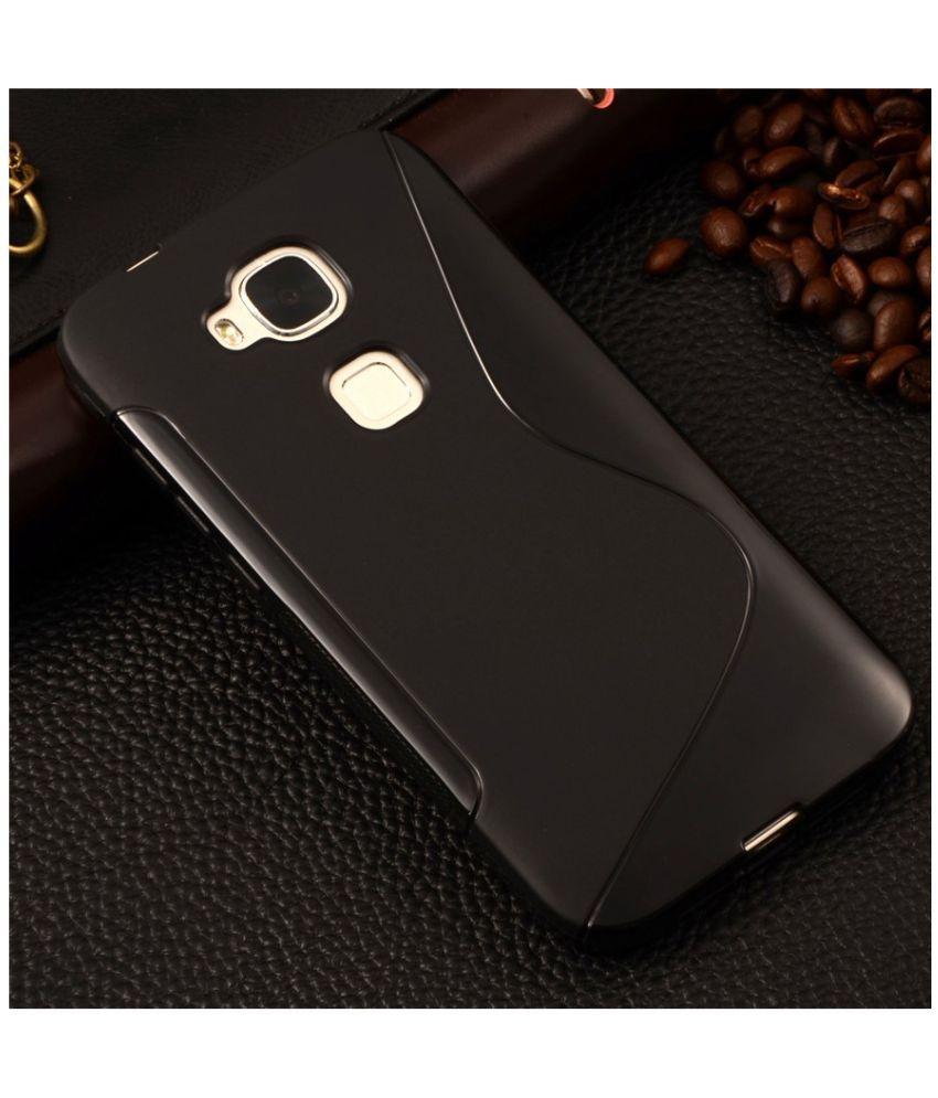 the best attitude 003a4 5e906 Huawei G8 Plain Cases Ziaon - Black
