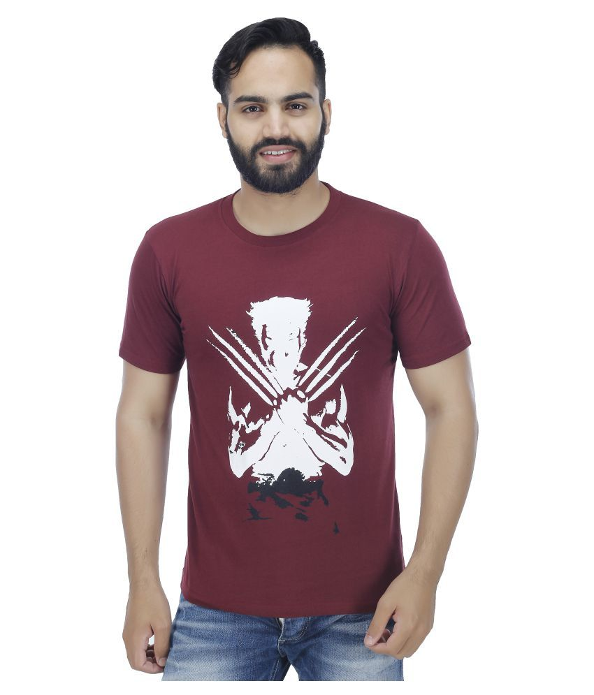 Christy's Collection Maroon Round T-Shirt