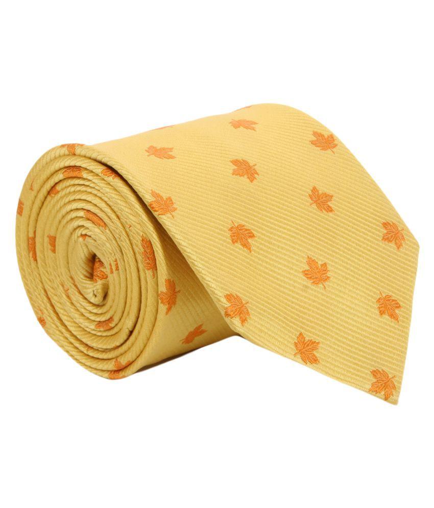Alvaro Castagnino Yellow Party Necktie