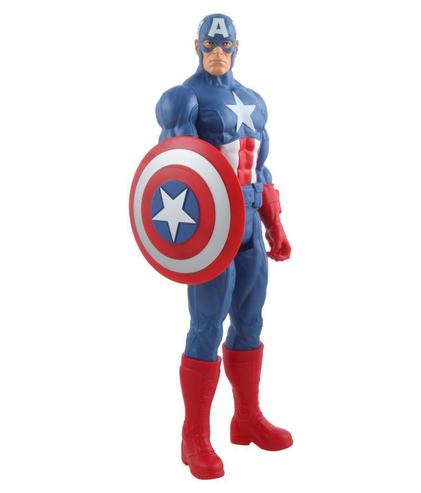 Big Size 11 inch Captain America Classic Titan Ultimate Super Power Action  Hero-3 ...