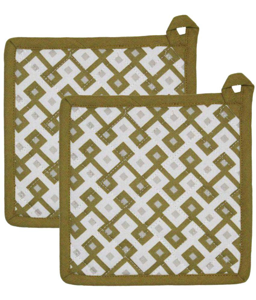 Airwill Cotton Designer Pot Holders (Pack of 2 pcs).