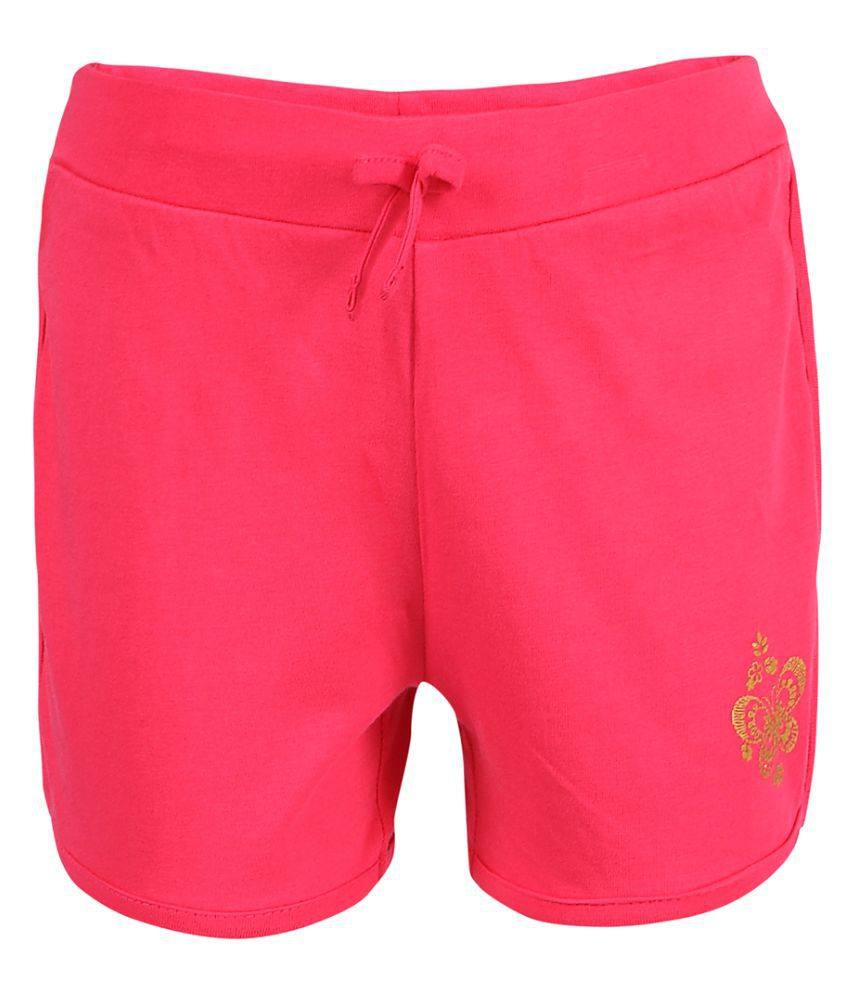 Ctee Solid Girl's Shorts