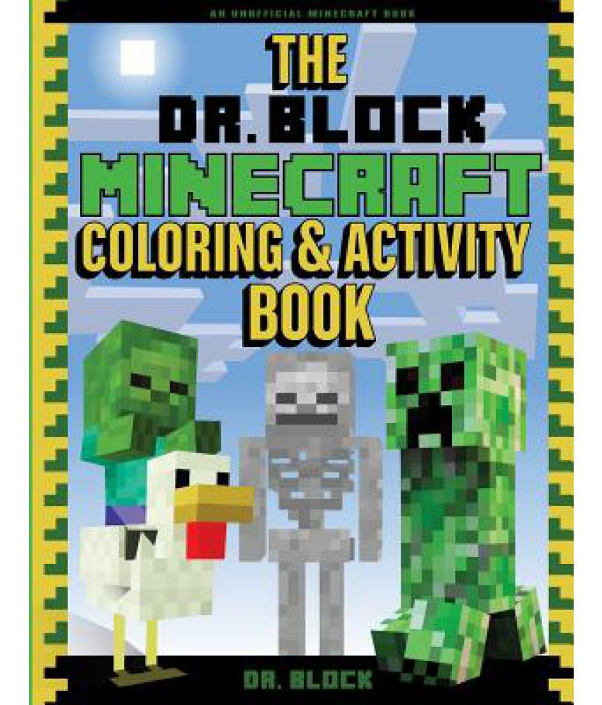 The Dr Block Minecraft Coloring SDL 1 8bfe7