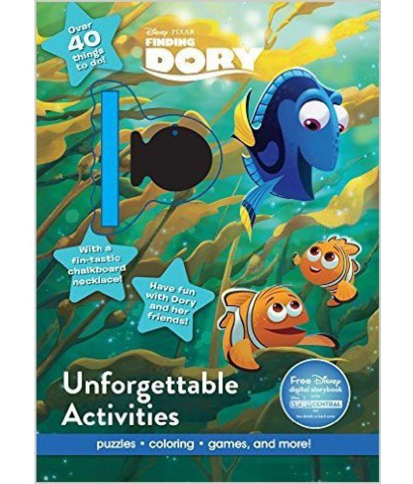 Disney Dory Unforgettable Activities -9781474864794: Buy Disney Dory ...