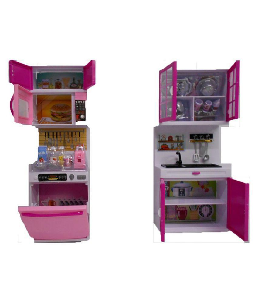 Emob Attractive Modern Kitchen Playset with Light and Real Sound ...