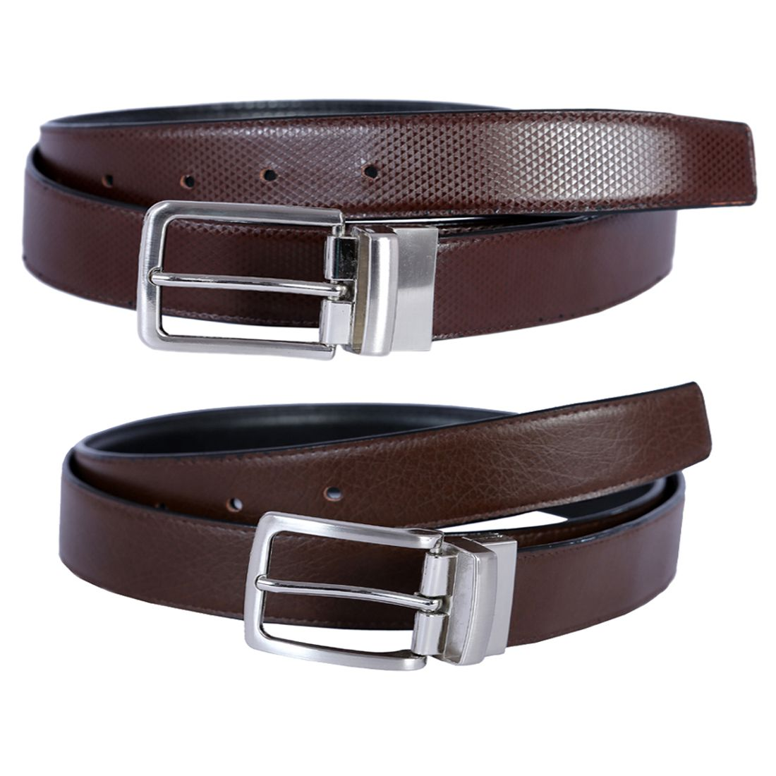 Kritika's World Brown Leather Formal Belts