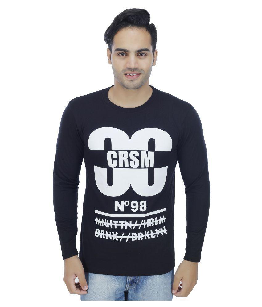 Rakshita's Collection Navy Round T-Shirt