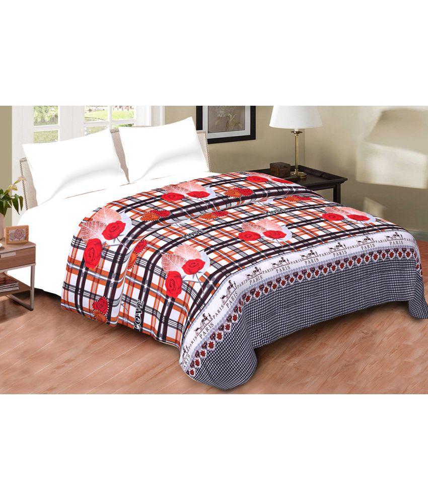 aj home double cotton multi comforter buy aj home double cotton multi comforter online at low. Black Bedroom Furniture Sets. Home Design Ideas