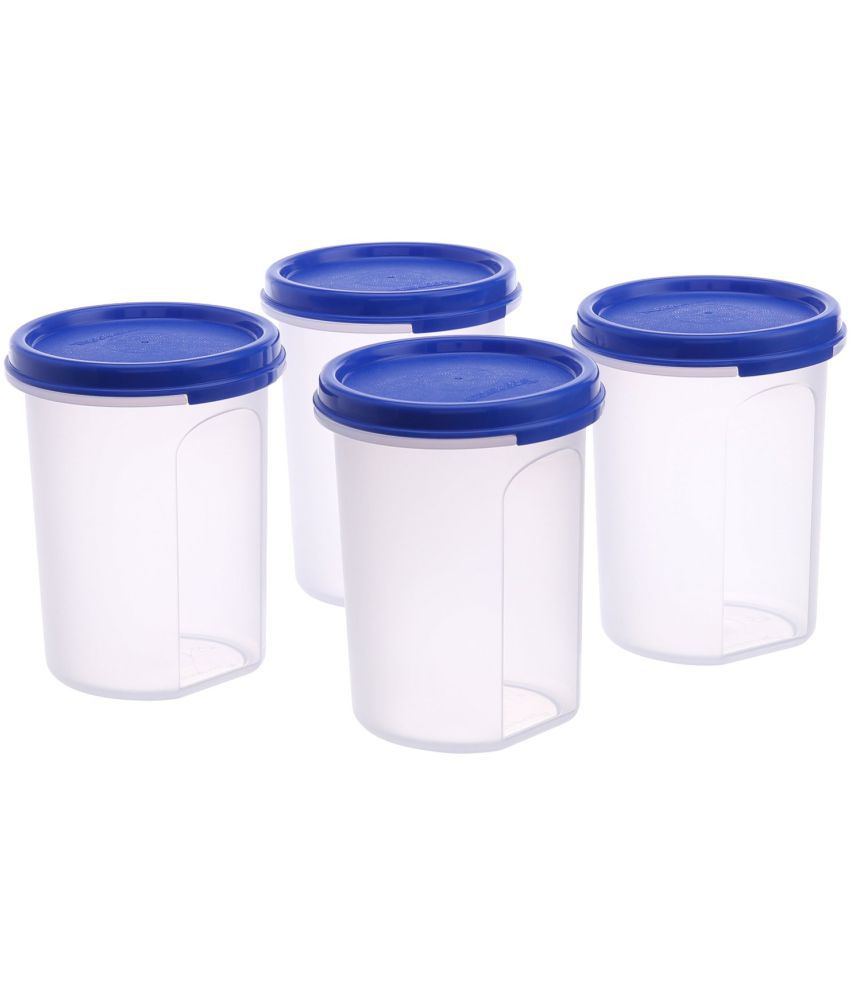 Tupperware Polyproplene Tea/Coffee/Sugar Container Set of 4