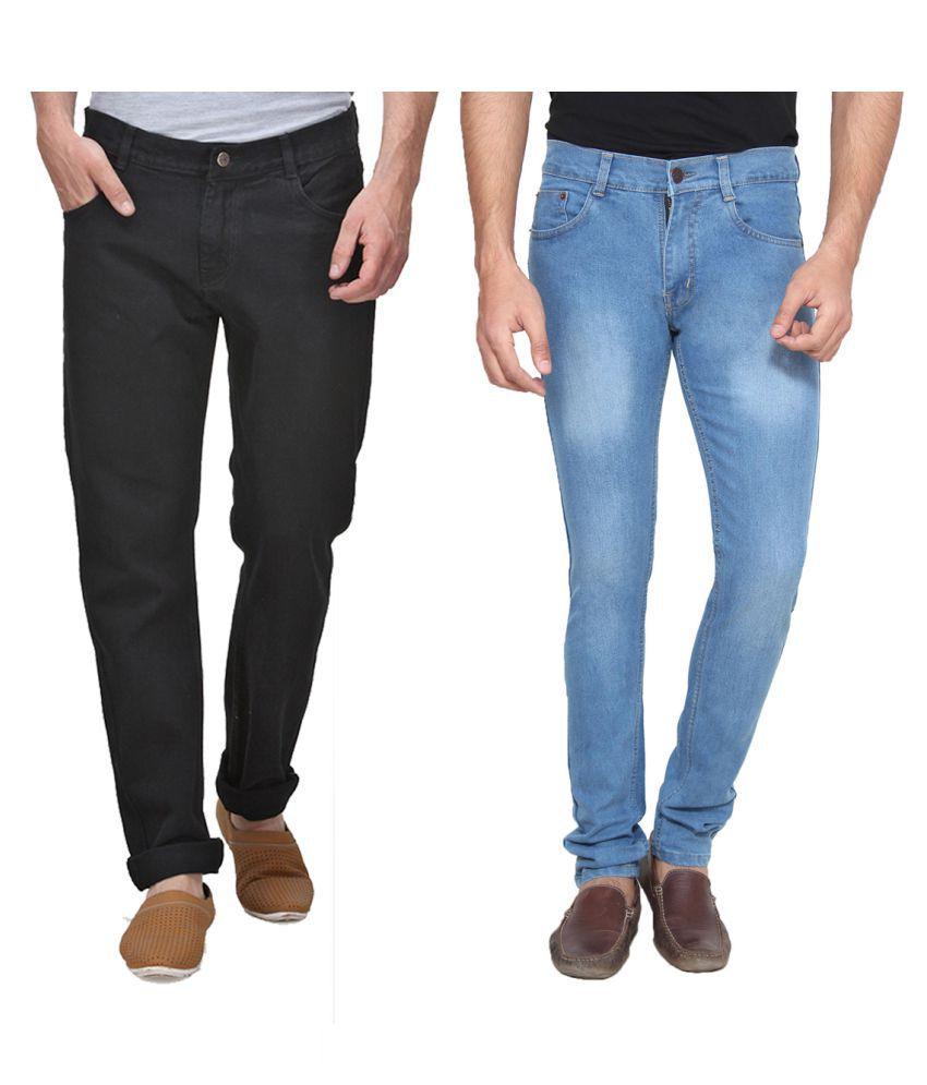 Ansh Fashion Wear Multi Regular Fit Jeans
