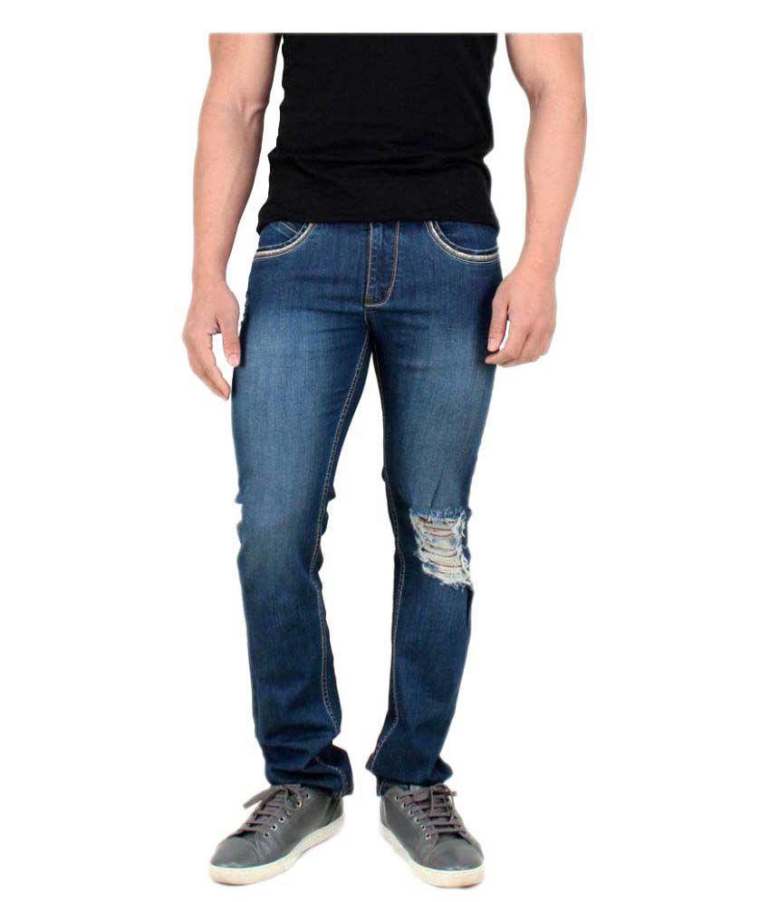 Rock Island Blue Regular Fit Jeans