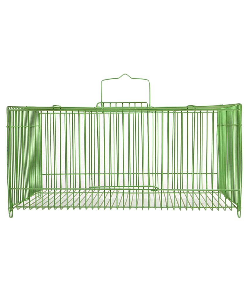 Birdspot Green Cage Large
