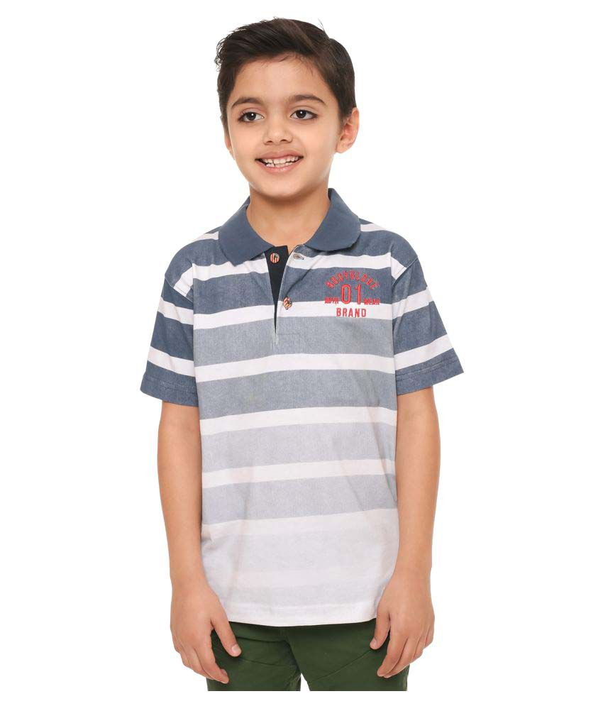 48a3d6259 Bodyglove Boys Polo Neck Striped Casual Polo T Shirt available at SnapDeal  for Rs.587