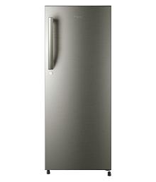 Haier 195 Ltr 4 Star HRD-1954BS-R Single Door Refrigerator - Silver