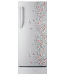 Haier 195 Ltr 4 Star HRD-1954PSL-R Single Door Refrigerator - Silver Liana