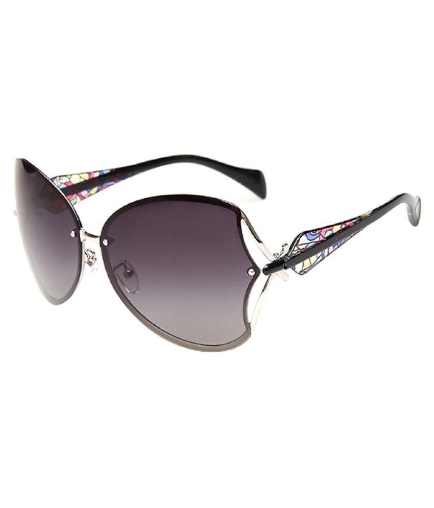Mark Miller Black Oversized Sunglasses ( 3200B )