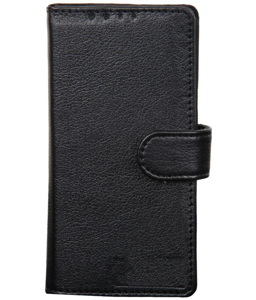 Huawei Honor 4C Flip Cover by Dsas - Black