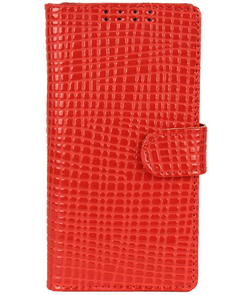 Samsung Galaxy S5 Flip Cover by Dsas - Red