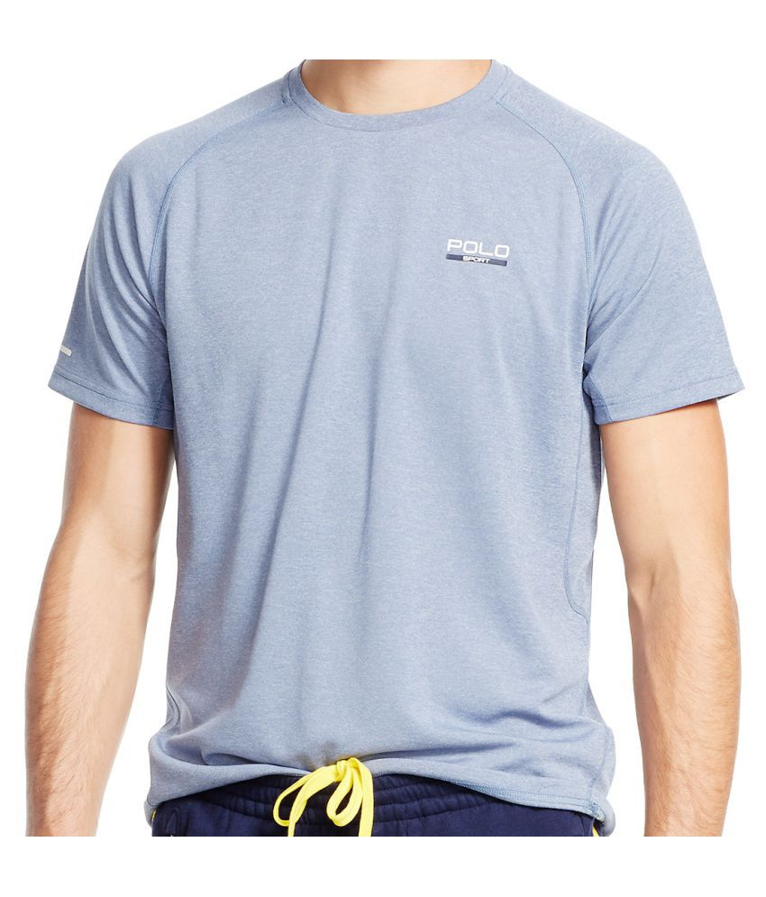 Ralph Lauren Polo Blue Polyester T Shirt