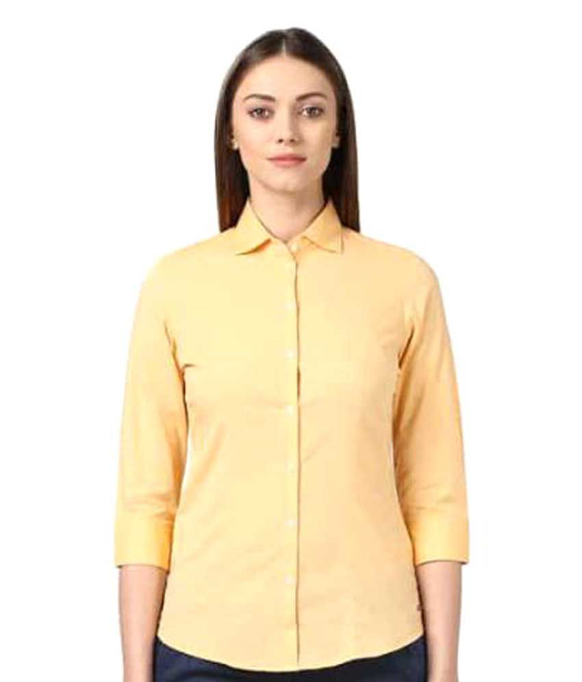 Park Avenue Woman Cotton Blend Shirt