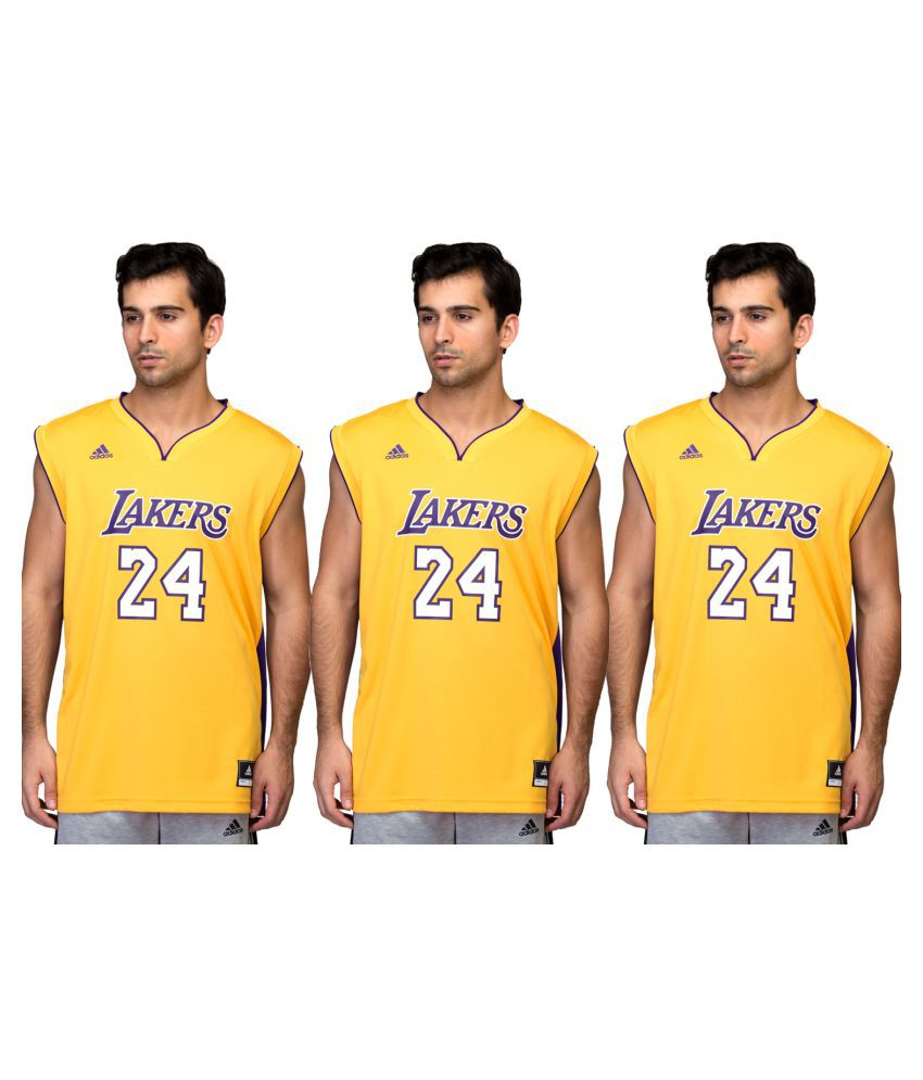 Adidas Basket Ball T-shirt Pack Of 3 For Men
